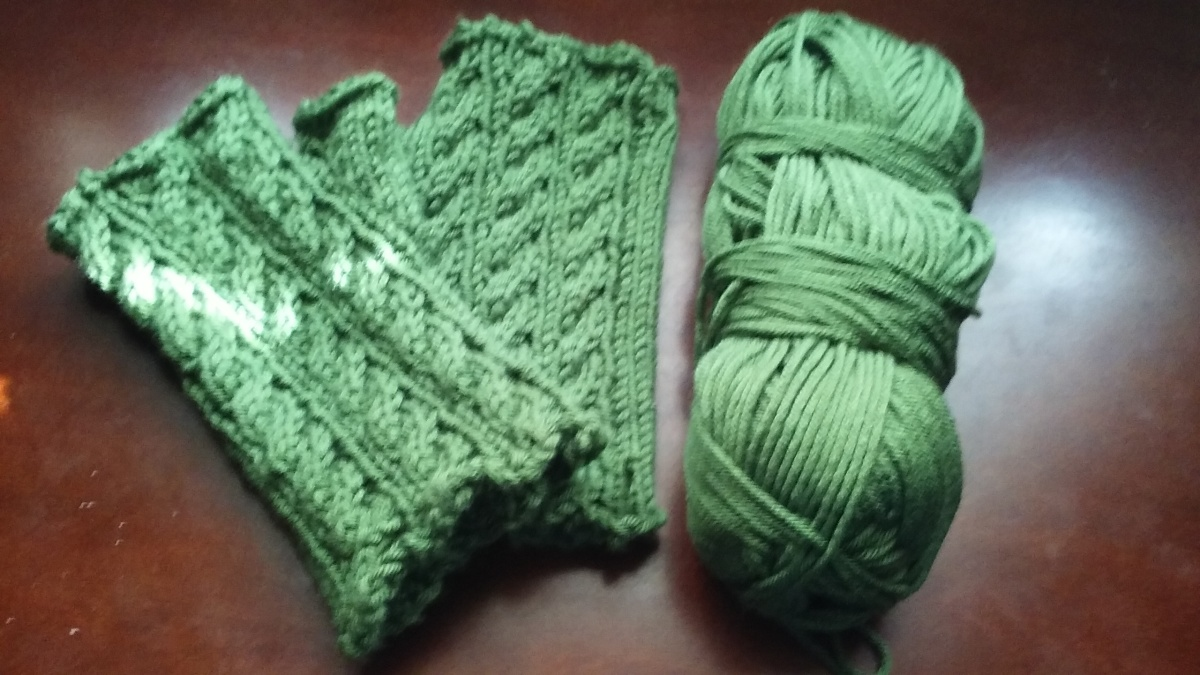Irish Hiking Mitts (Right)